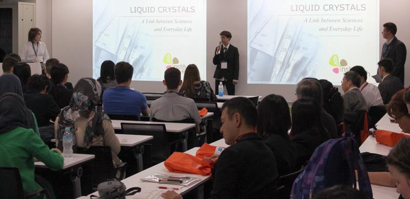 """Dans le cadre de la formation """"Section Européenne Physique-Chimie"""", nous avons eu l'opportunité de participer à la « Japan Super Science Fair » (JSSF)"""
