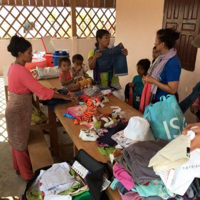 Comité Départ en mission au Cambodge