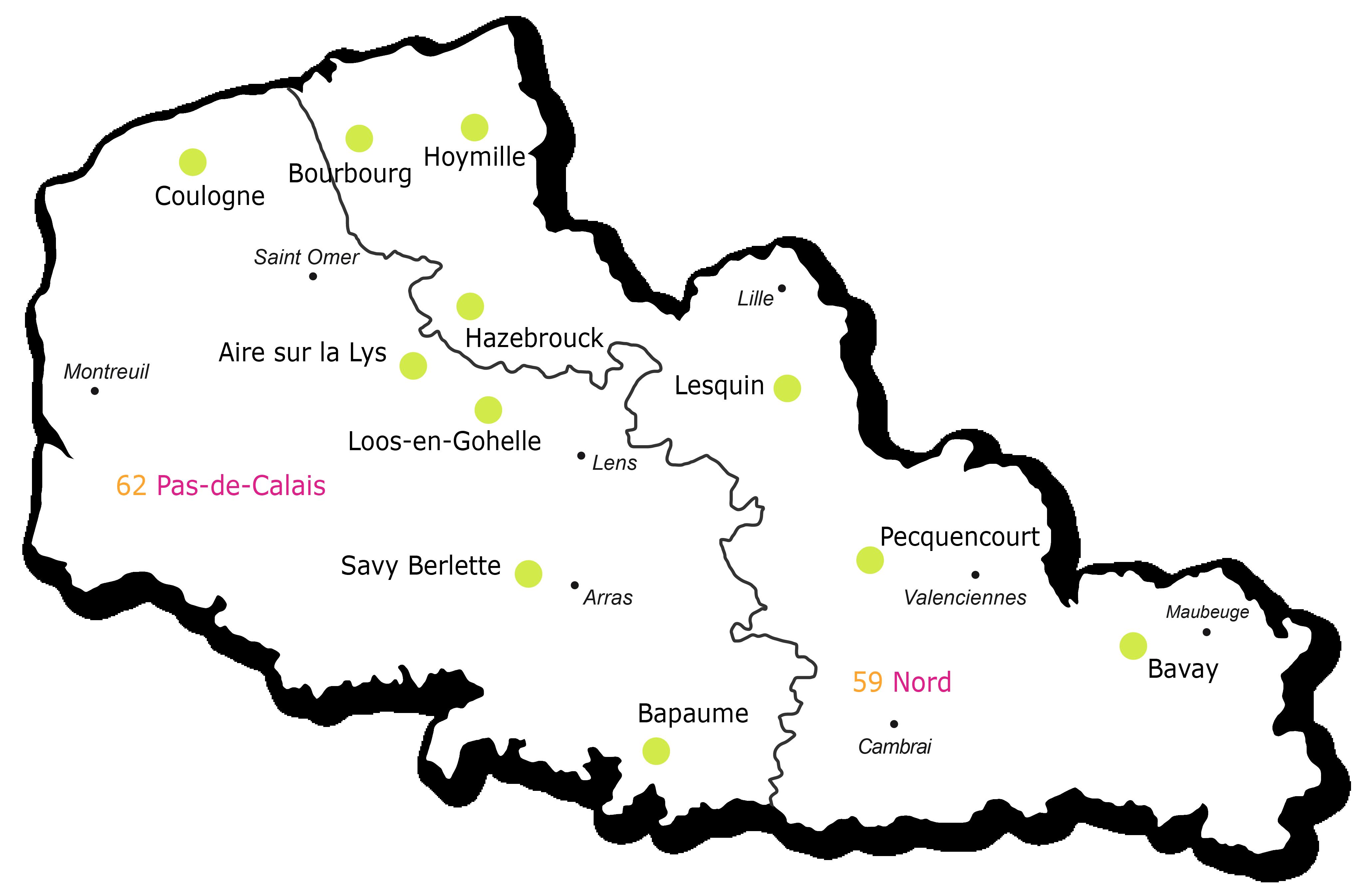 président région nord