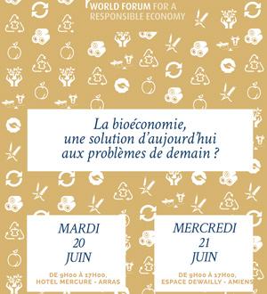 JOURNÉES DE CONFÉRENCES INTERNATIONALES / BIOÉCONOMIE
