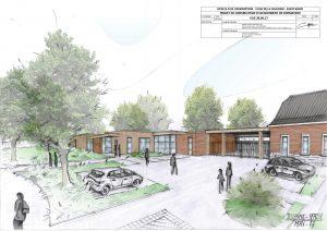 Projet d'Aménagement du Lycée Professionnel de Bavay