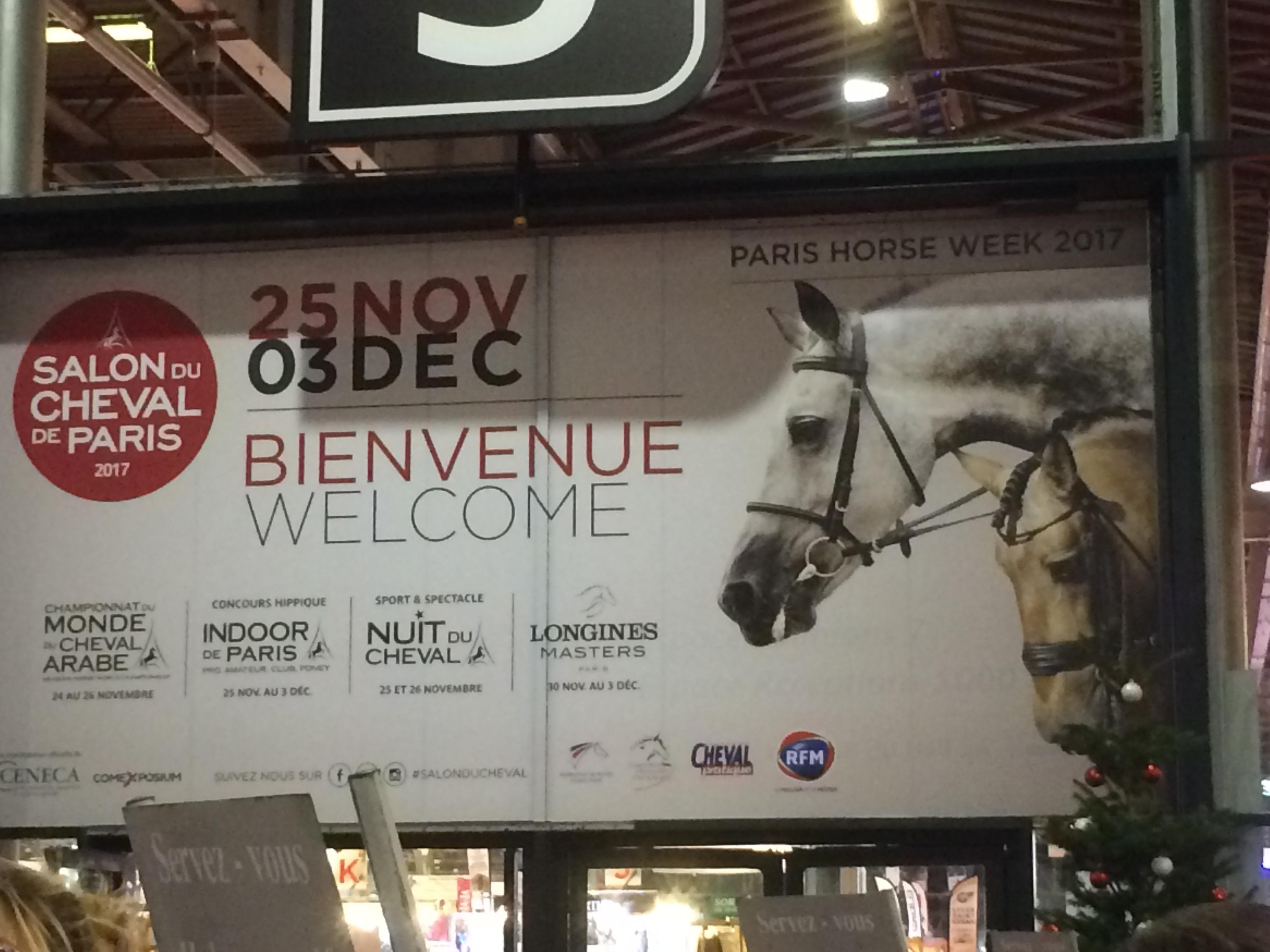 Salon du cheval 2017 votre avenir au coeur de la nature - Salon du cheval tarif ...