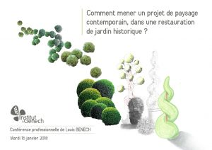 Invitation à la conférence Louis Benech à Genech
