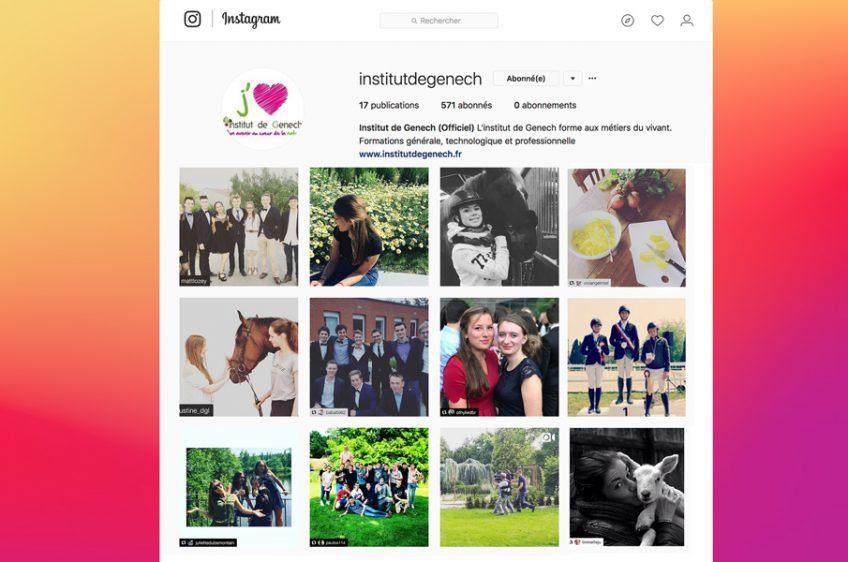 Nous sommes sur Instagram !