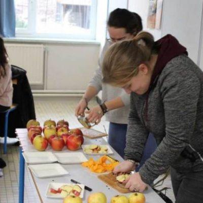 Etude des variétés des pommes