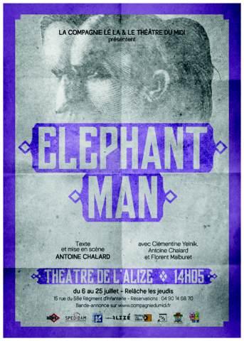Pièce de théâtre : Elephant man