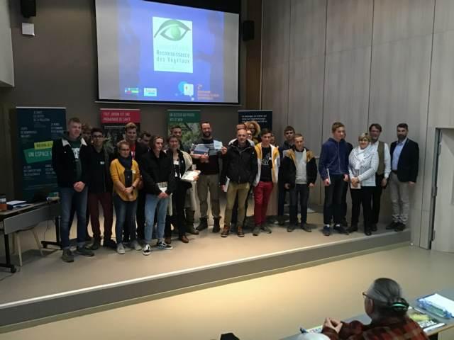Résultats du concours régional de reconnaissance des végétaux