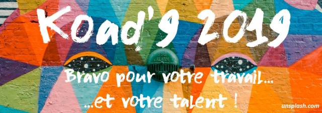 Concours Koad'9 2019