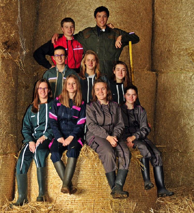Nos étudiants au Salon de l'Agriculture