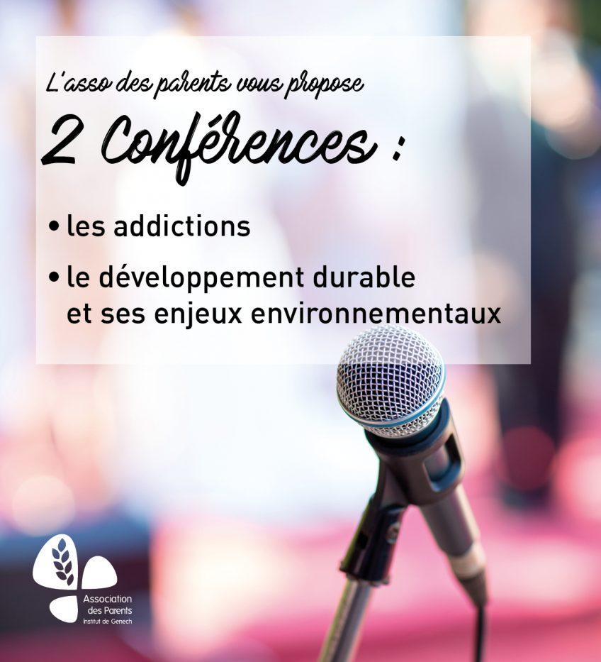 Conférences pour les parents