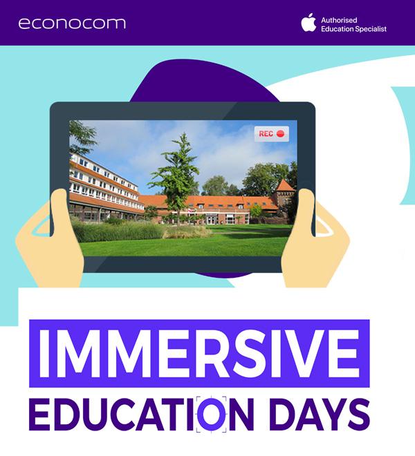 Evènement digital avec Apple Education