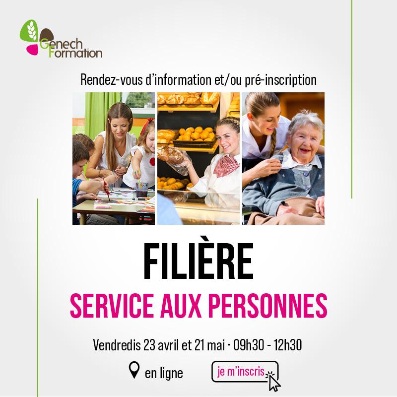 Information – Services aux personnes – Alternance