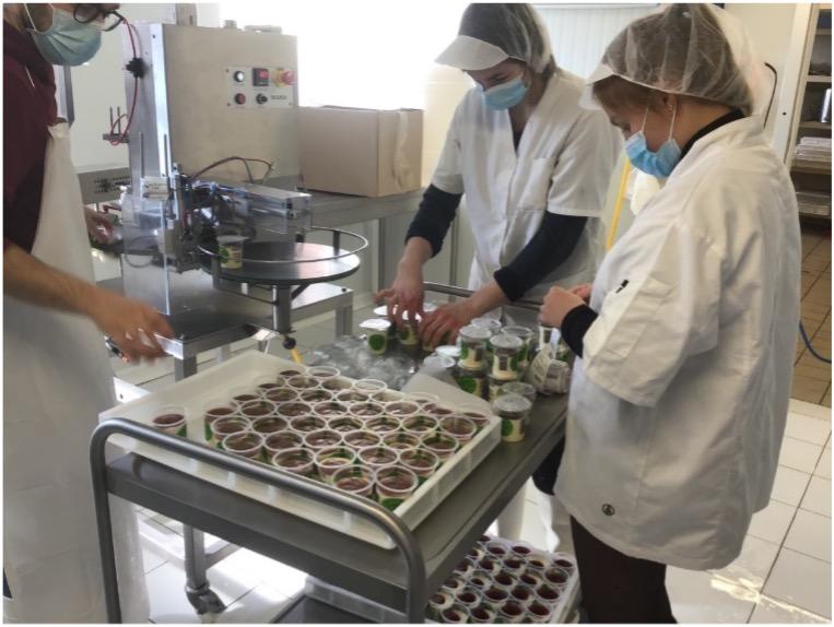 Découverte de  la fabrication des produits laitiers de chez Côté Ferme