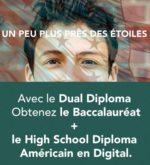 Dual Diploma, un Bac américain version digitale