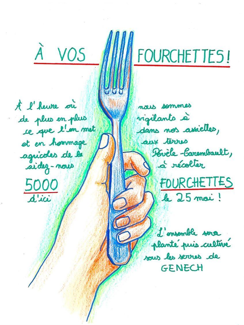 A vos fourchettes !