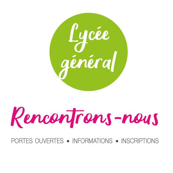Inscription 2021 au Lycée général