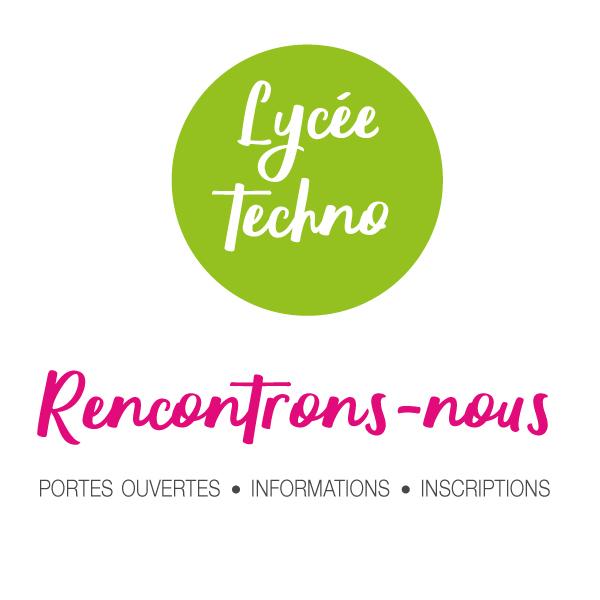 Inscription 2021 au Lycée Technologique